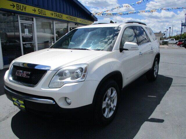 2009 GMC Acadia for sale at Affordable Auto Rental & Sales in Spokane Valley WA