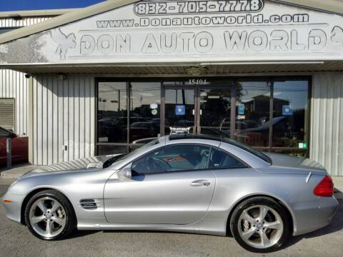 2004 Mercedes-Benz SL-Class for sale at Don Auto World in Houston TX