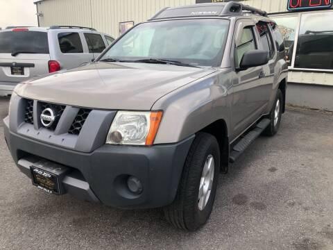 2008 Nissan Xterra for sale at BELOW BOOK AUTO SALES in Idaho Falls ID