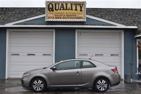 2013 Kia Forte Koup for sale at Quality Pre-Owned Automotive in Cuba MO