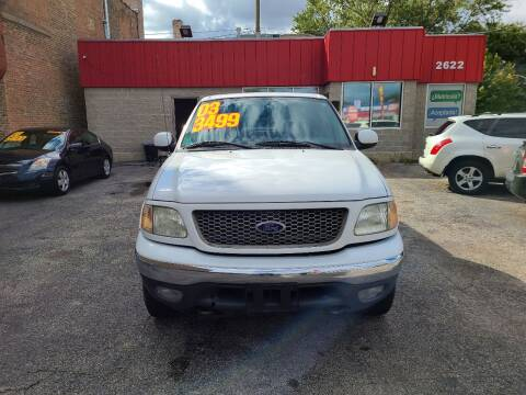 2003 Ford F-150 for sale at Alpha Motors in Chicago IL