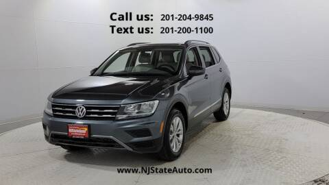 2018 Volkswagen Tiguan for sale at NJ State Auto Used Cars in Jersey City NJ