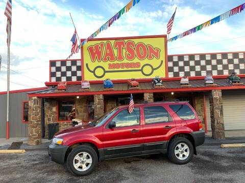 2007 Ford Escape for sale at Watson Motors in Poteau OK