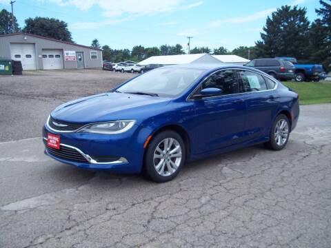 2016 Chrysler 200 for sale at SHULLSBURG AUTO in Shullsburg WI