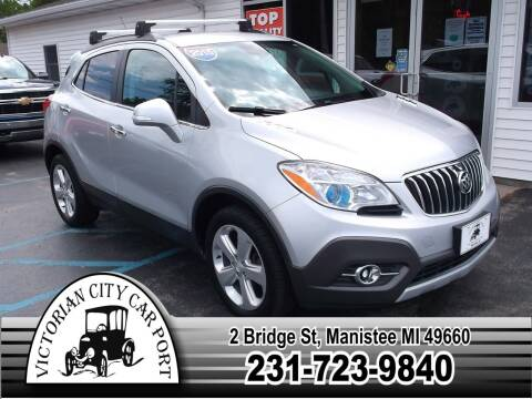 2015 Buick Encore for sale at Victorian City Car Port INC in Manistee MI