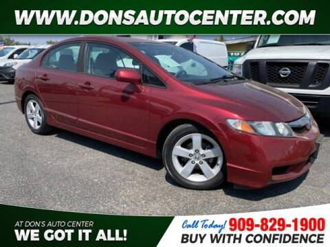 2010 Honda Civic for sale at Dons Auto Center in Fontana CA