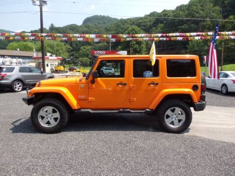 2012 Jeep Wrangler Unlimited for sale at RJ McGlynn Auto Exchange in West Nanticoke PA