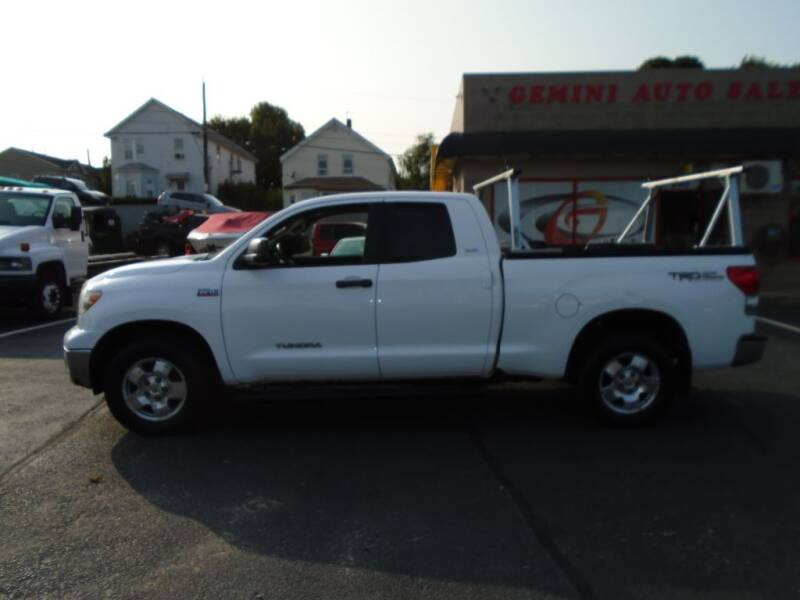 2009 Toyota Tundra for sale at Gemini Auto Sales in Providence RI