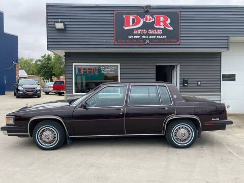 1985 Cadillac DeVille for sale at D & R Auto Sales in South Sioux City NE