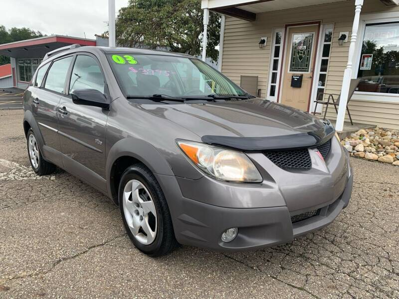 2003 Pontiac Vibe for sale at G & G Auto Sales in Steubenville OH
