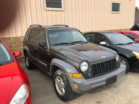 2005 Jeep Liberty for sale at Randys Auto Sales in Gardner MA