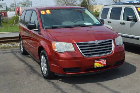 2008 Chrysler Town and Country for sale at Performance Motor Cars in Washington Court House OH