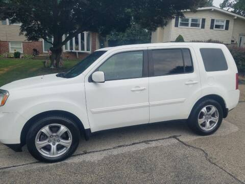 2014 Honda Pilot for sale at Bottom Line Auto Exchange in Upper Darby PA
