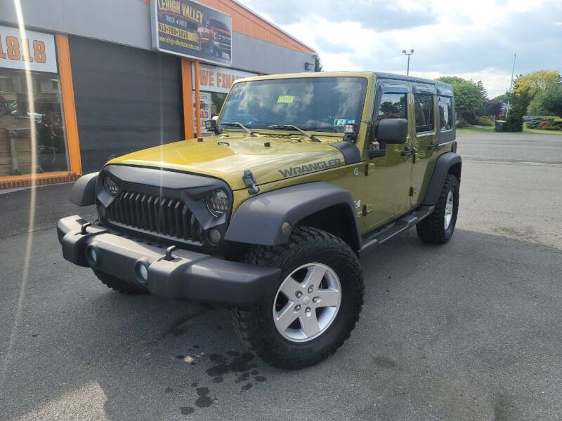 2007 Jeep Wrangler Unlimited for sale at Lehigh Valley Truck n Auto LLC. in Schnecksville PA