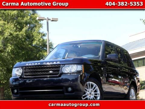 2012 Land Rover Range Rover for sale at Carma Auto Group in Duluth GA