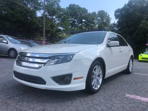 2012 Ford Fusion for sale at Fast and Friendly Auto Sales LLC in Decatur GA