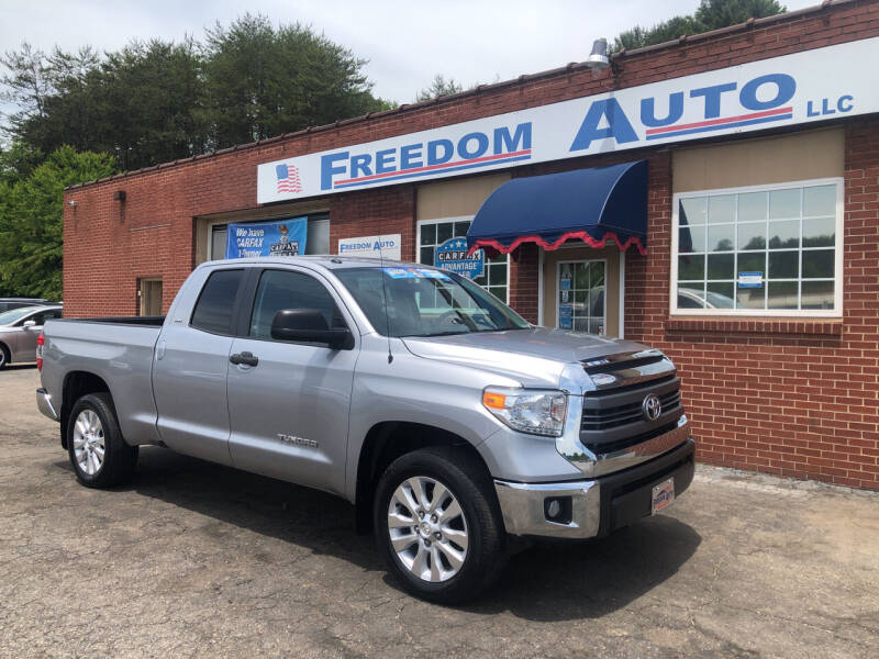 2014 Toyota Tundra for sale at FREEDOM AUTO LLC in Wilkesboro NC