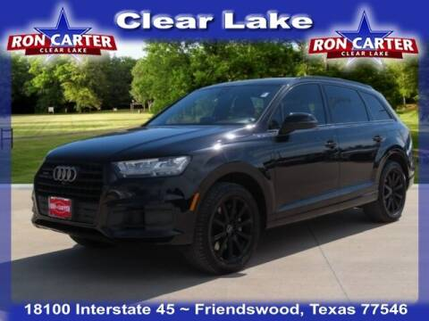 2017 Audi Q7 for sale at Ron Carter  Clear Lake Used Cars in Houston TX