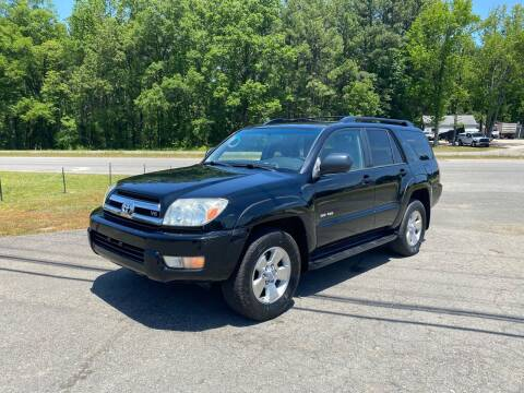 2005 Toyota 4Runner for sale at CVC AUTO SALES in Durham NC