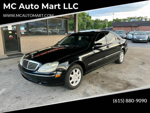 2000 Mercedes-Benz S-Class for sale at MC Auto Mart LLC in Hermitage TN