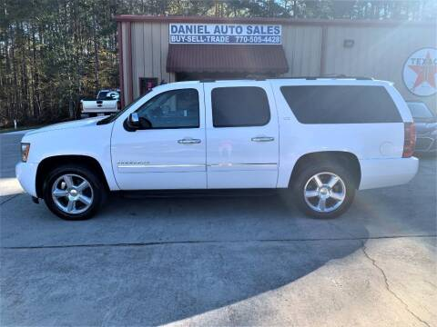 2011 Chevrolet Suburban for sale at Daniel Used Auto Sales in Dallas GA