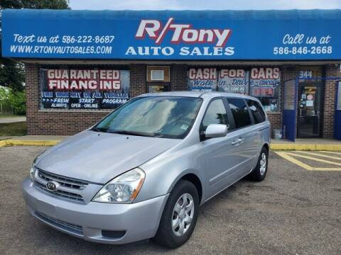 2006 Kia Sedona for sale at R Tony Auto Sales in Clinton Township MI