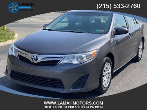 2014 Toyota Camry for sale at LAMAH MOTORS INC in Philadelphia PA