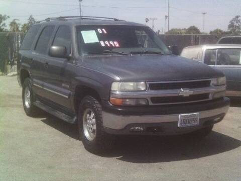 2001 Chevrolet Tahoe for sale at Valley Auto Sales & Advanced Equipment in Stockton CA