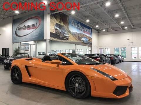 2007 Lamborghini Gallardo for sale at Godspeed Motors in Charlotte NC