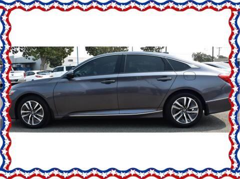 2020 Honda Accord Hybrid for sale at American Auto Depot in Modesto CA