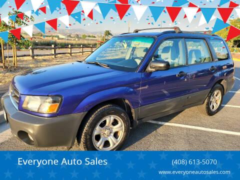 2004 Subaru Forester for sale at Everyone Auto Sales in Santa Clara CA