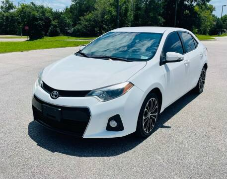 2016 Toyota Corolla for sale at Central Motor Company in Austin TX