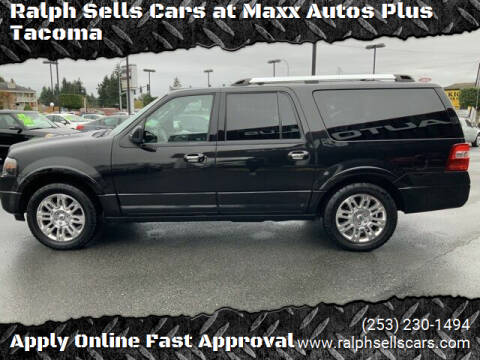 2014 Ford Expedition EL for sale at Ralph Sells Cars at Maxx Autos Plus Tacoma in Tacoma WA