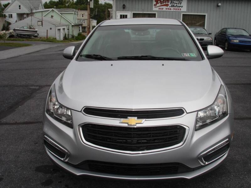 2015 Chevrolet Cruze for sale at Pete's Bridge Street Motors in New Cumberland PA