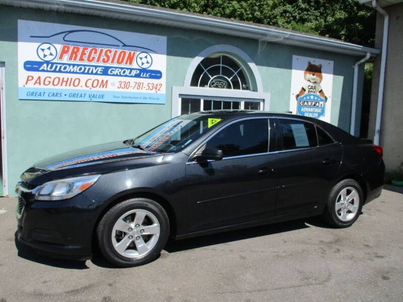 2015 Chevrolet Malibu for sale at Precision Automotive Group in Youngstown OH