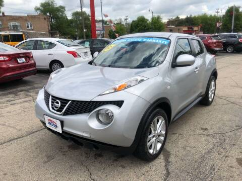 2013 Nissan JUKE for sale at Bibian Brothers Auto Sales & Service in Joliet IL