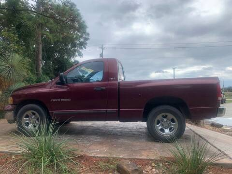2002 Dodge Ram Pickup 1500 for sale at Texas Truck Sales in Dickinson TX