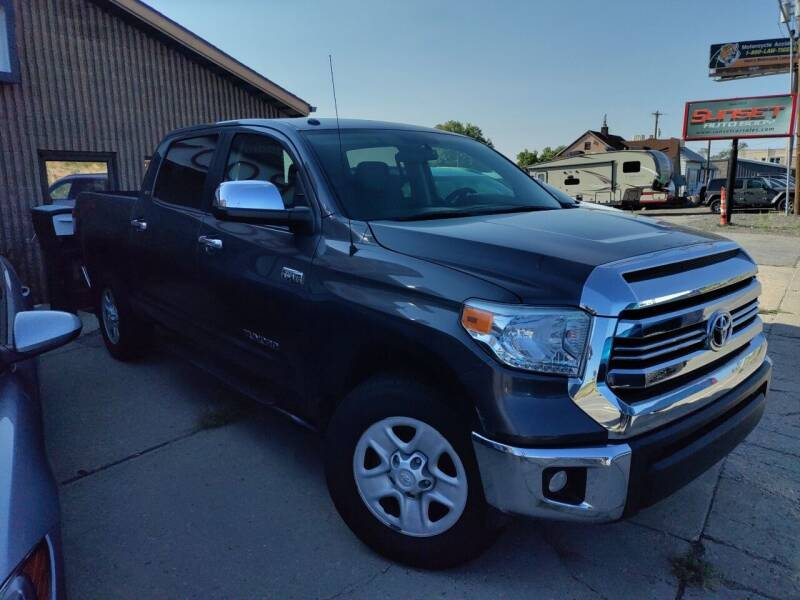 2016 Toyota Tundra for sale at Sunset Auto Body in Sunset UT