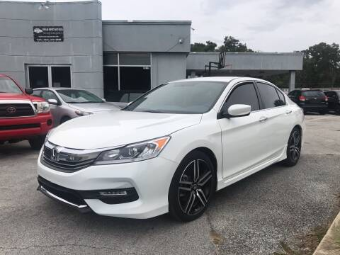 2017 Honda Accord for sale at Popular Imports Auto Sales in Gainesville FL