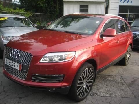 2007 Audi Q7 for sale at B. Fields Motors, INC in Pittsburgh PA