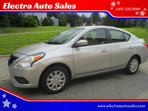 2017 Nissan Versa for sale at Electra Auto Sales in Johnston RI