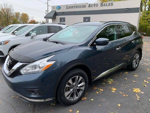 2016 Nissan Murano for sale at Lighthouse Auto Sales in Holland MI