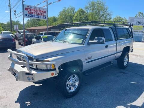 1999 Dodge Ram Pickup 2500 for sale at INTERNATIONAL AUTO SALES LLC in Latrobe PA
