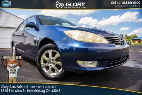 2005 Toyota Camry for sale at Glory Auto Sales LTD in Reynoldsburg OH