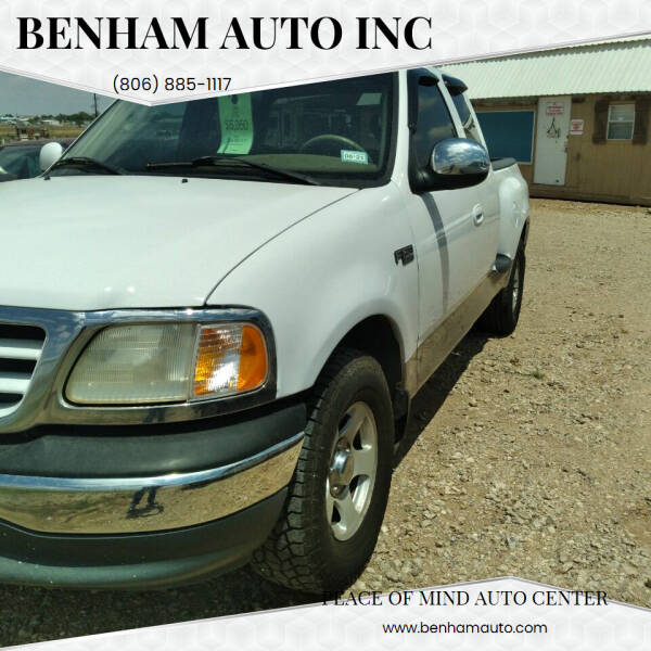 2002 Ford F-150 for sale at BENHAM AUTO INC in Lubbock TX
