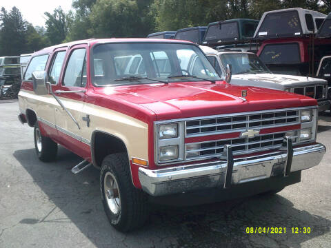 1987 Chevrolet Suburban for sale at M & M Inc. of York in York PA