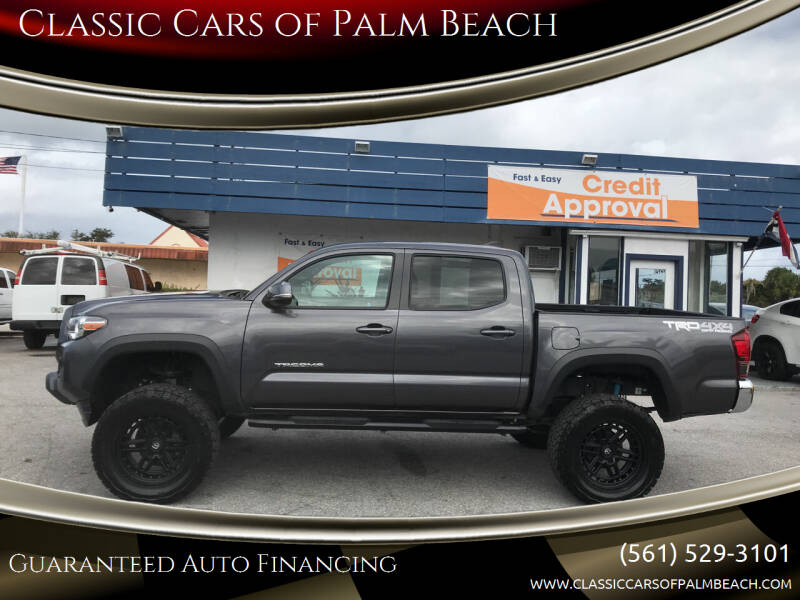 2019 Toyota Tacoma for sale at Classic Cars of Palm Beach in Jupiter FL
