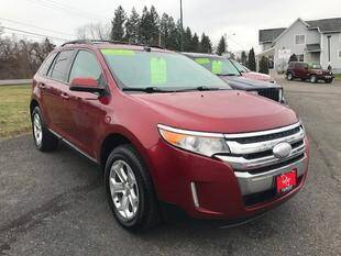 2013 Ford Edge for sale at FUSION AUTO SALES in Spencerport NY