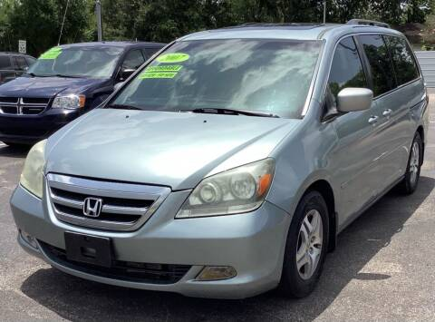 2007 Honda Odyssey for sale at Auto Plan in La Porte TX