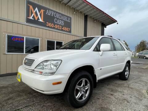 2002 Lexus RX 300 for sale at M & A Affordable Cars in Vancouver WA